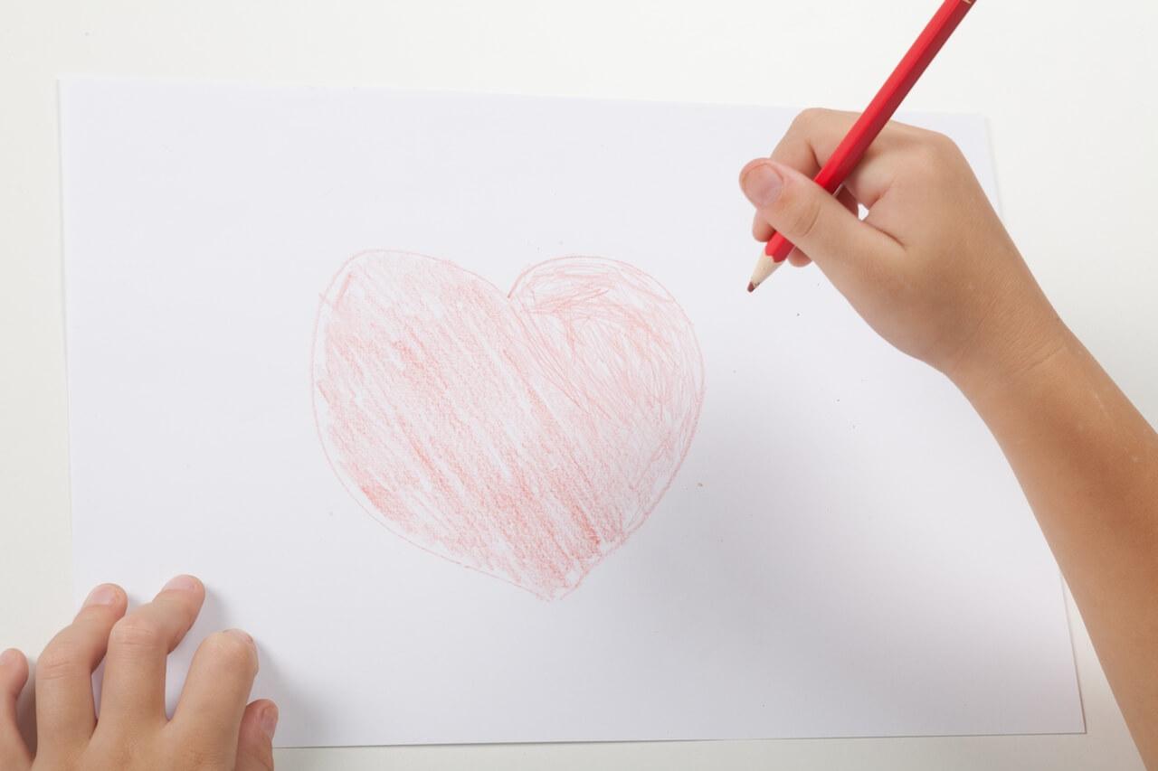 Het kinderhart spreekt meer dan duizend woorden