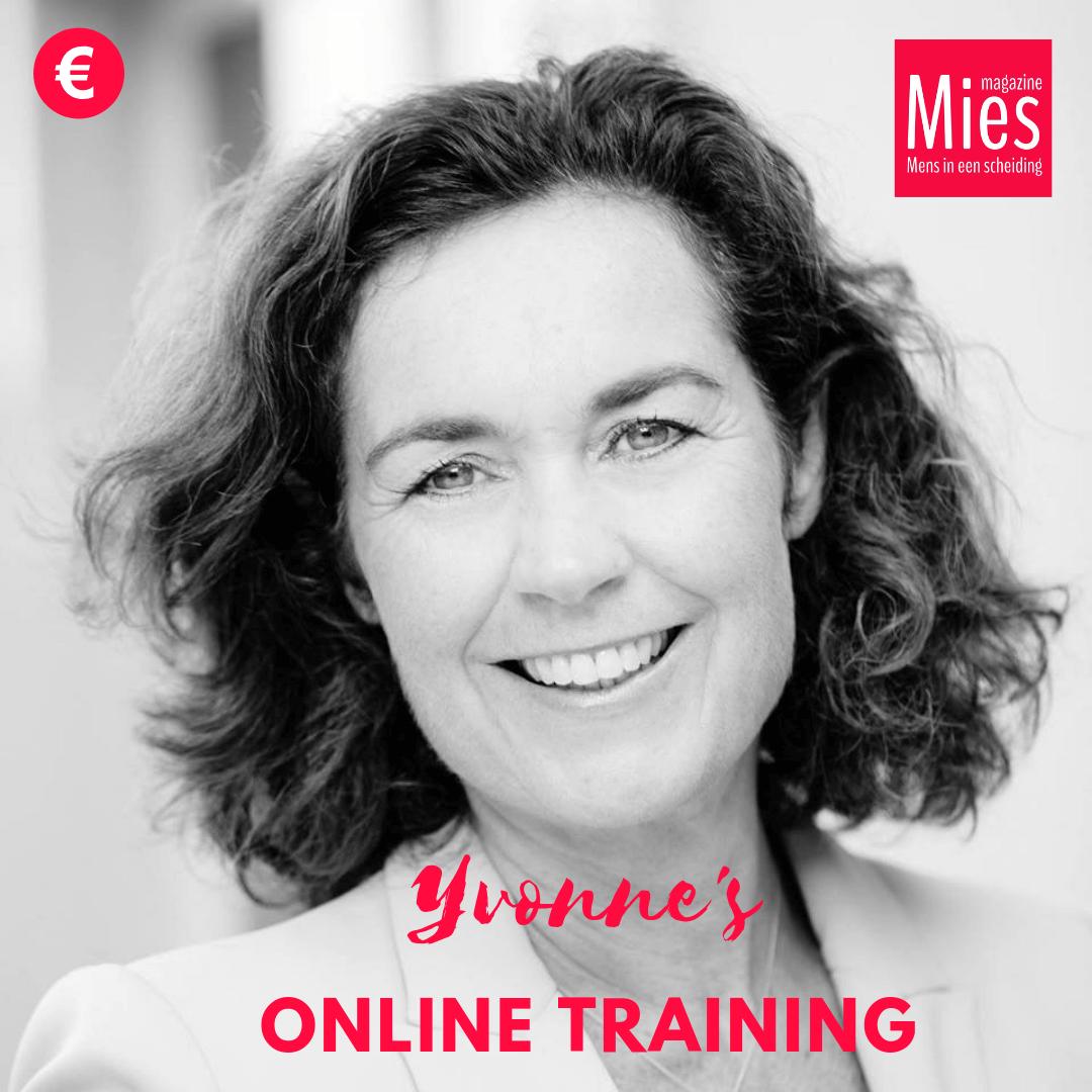 Yvonne's online training met Mies korting van 50% Normaal € 79 nu € 39,50!
